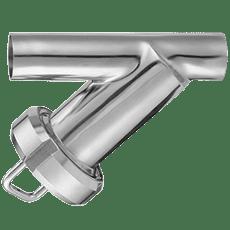 Фильтр трубный прямой нержавеющий DN032 DIN11851 AISI 304 (L) / 1.4301 (7)