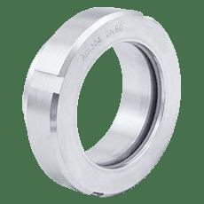 Диоптр гаечный нержавеющий DN040 DIN 11851 AISI 316L / 1.4404