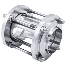 Диоптр трубный нержавеющий DN020 (022,0) DIN 11851 AISI 316L / 1.4404