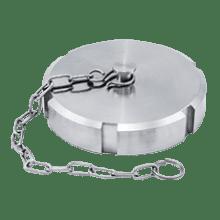Гайка глухая с цепочкой нержавеющая DN010 DIN 11851 AISI 304 (L) / 1.4301 (7)
