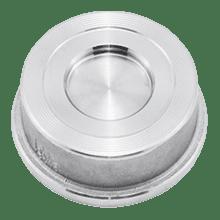 Клапан обратный межфланцевый нержавеющий DN100 AISI 316L / 1.4404