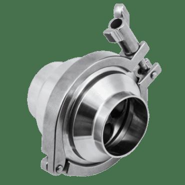 Клапан обратный нержавеющий DN040 (сварка-сварка) DIN 11851 AISI 304 (L) / 1.4301 (7)