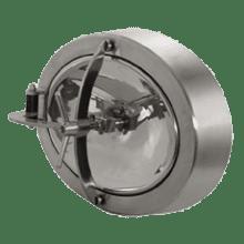 Люк нержавеющий овальный 550x450 AISI 304 (L) / 1.4301 (7) EPDM