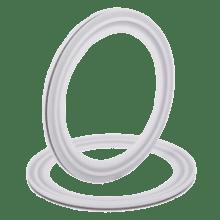 Уплотнение соединения КЛАМП DN015 ISO Silicon