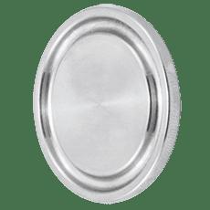 Заглушка соединения КЛАМП нержавеющая DN050 DIN 32676 AISI 316L / 1.4404