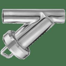Фильтр трубный прямой нержавеющий DN025 DIN 11851 AISI 316L / 1.4404