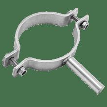 Крепление трубопроводов (КТР) с ножкой 219,1 DIN 3567-A AISI 304 (L) / 1.4301 (7)