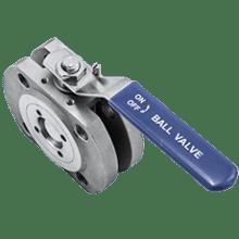 Кран шаровой межфланцевый нержавеющий DN100 PN16 / WOG200 AISI 316L / 1.4404