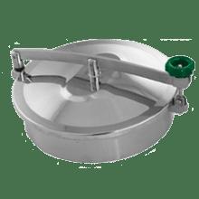 Люк нержавеющий круглый DN400 AISI 304 (L) / 1.4301 (7) Silicon