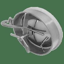 Люк нержавеющий овальный 530x430 AISI 304 (L) / 1.4301 (7) EPDM