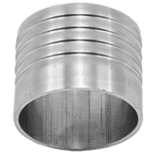 Шланговая надставка DN015 DIN 11851 AISI 316L / 1.4404
