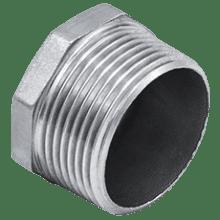 """Заглушка нержавеющая DN100-4""""0/0 M ISO 4144 AISI 304 (L) / 1.4301 (7)"""
